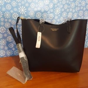 Victoria's secret black tote/purse